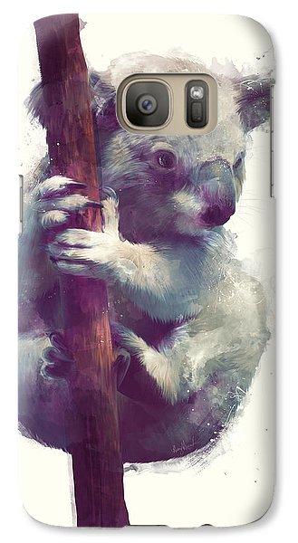 Koala Galaxy S7 Case by Amy Hamilton
