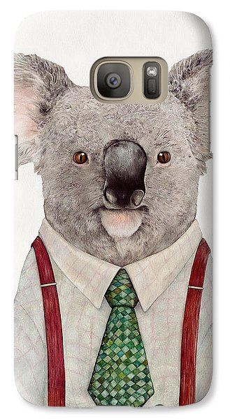 Portraits Galaxy S7 Case - Koala by Animal Crew