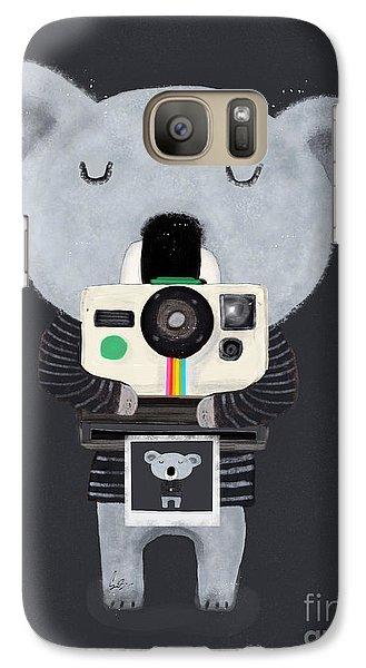 Koala Galaxy S7 Case - Koala Cam by Bleu Bri