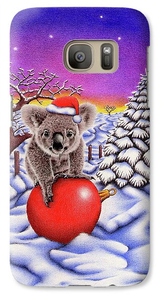 Koala On Christmas Ball Galaxy S7 Case