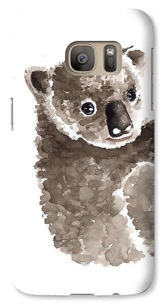 Koala Galaxy S7 Case - Koala Watercolor Art Print Painting by Joanna Szmerdt