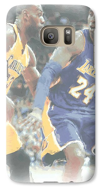 Kobe Bryant Lebron James 2 Galaxy S7 Case