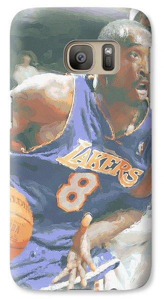 Kobe Bryant Lebron James Galaxy Case by Joe Hamilton