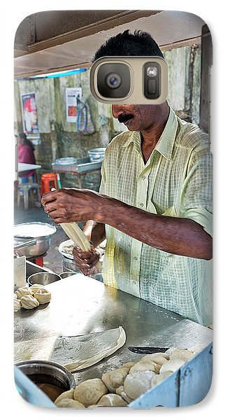 Galaxy Case featuring the photograph Kochi Stall by Marion Galt