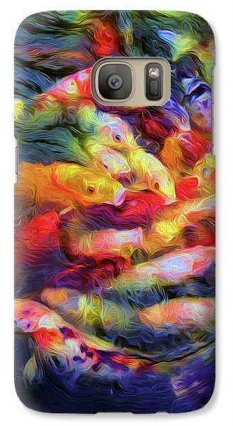 Koi Pond Galaxy S7 Case by Jon Woodhams