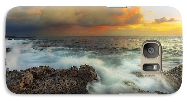 Galaxy Case featuring the photograph Kona Rush Hour by Ryan Manuel