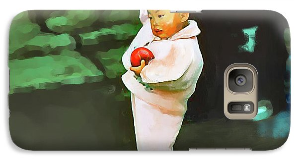 Galaxy Case featuring the photograph Korean Pink by Dale Stillman