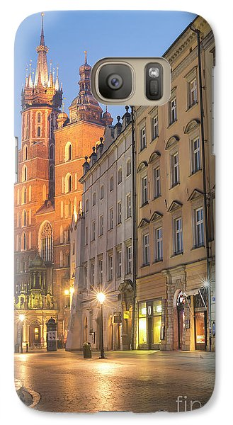 Galaxy Case featuring the photograph Krakow by Juli Scalzi