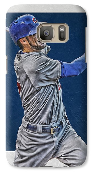 Kris Bryant Chicago Cubs Art 3 Galaxy S7 Case
