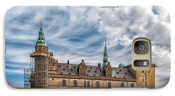 Galaxy Case featuring the photograph Kronborg Castle In Denmark by Antony McAulay
