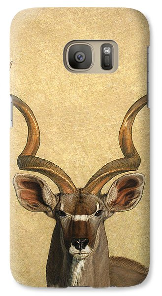 Kudu Galaxy S7 Case by James W Johnson