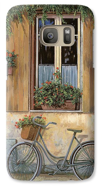 Bicycle Galaxy S7 Case - La Bici by Guido Borelli