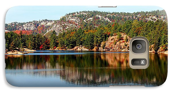 Galaxy Case featuring the photograph La Cloche Mountain Range by Debbie Oppermann