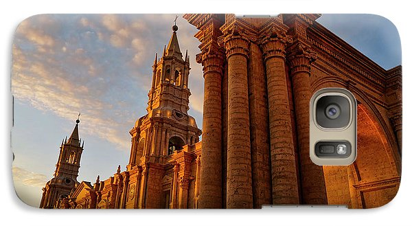 Galaxy Case featuring the photograph La Hora Magia by Skip Hunt