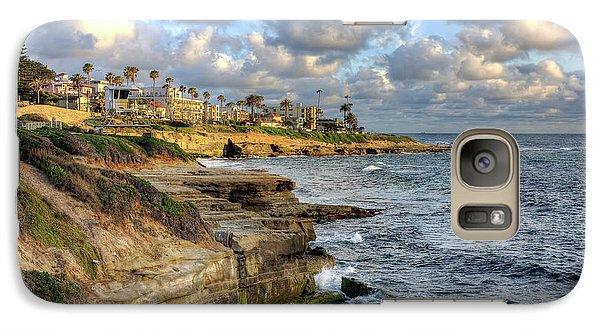 Galaxy Case featuring the photograph La Jolla Coastline by Eddie Yerkish