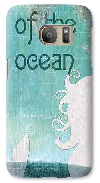 Seahorse Galaxy S7 Case - La Mer Mermaid 1 by Debbie DeWitt