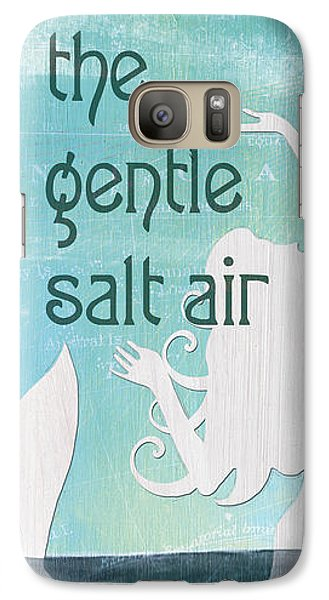 Seahorse Galaxy S7 Case - La Mer Mermaid 2 by Debbie DeWitt