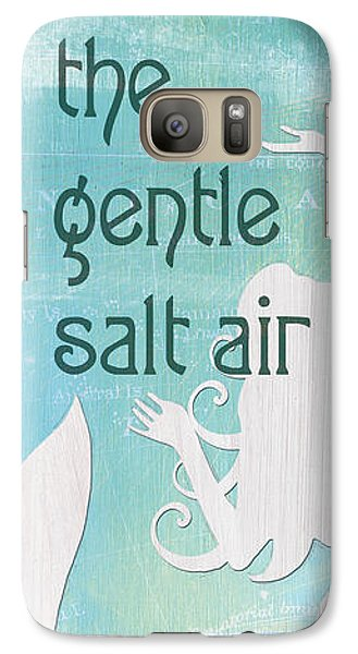 Fairy Galaxy S7 Case - La Mer Mermaid 2 by Debbie DeWitt