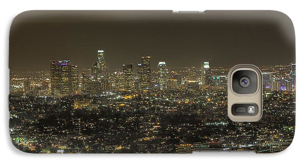 Galaxy Case featuring the photograph La Nights by Kim Wilson