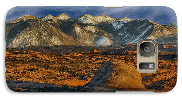 Galaxy Case featuring the photograph La Sal Mountain View by Wendell Thompson