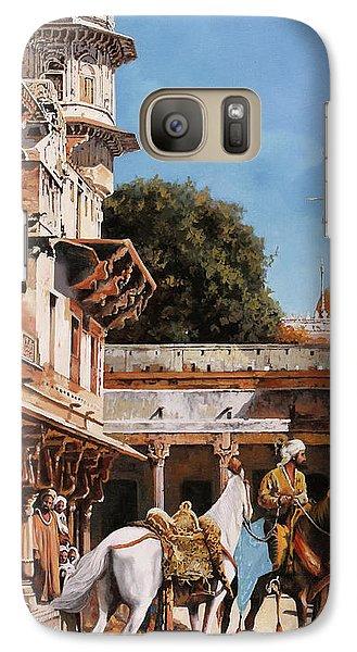 Knight Galaxy S7 Case - La Torre Bianca by Guido Borelli