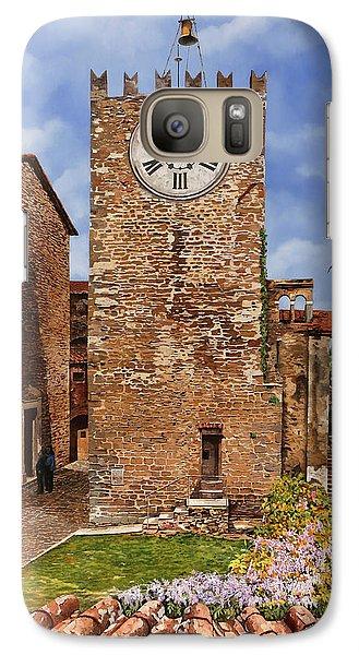 Swallow Galaxy S7 Case - La Torre Del Carmine-montecatini Terme-tuscany by Guido Borelli