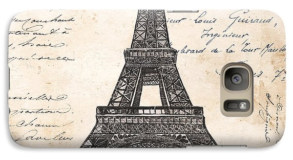 La Tour Eiffel Galaxy S7 Case