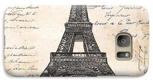 La Tour Eiffel Galaxy Case by Debbie DeWitt