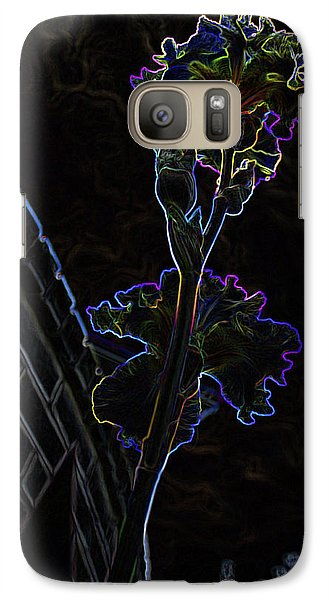 Galaxy Case featuring the photograph Laaaaa by Jane Autry