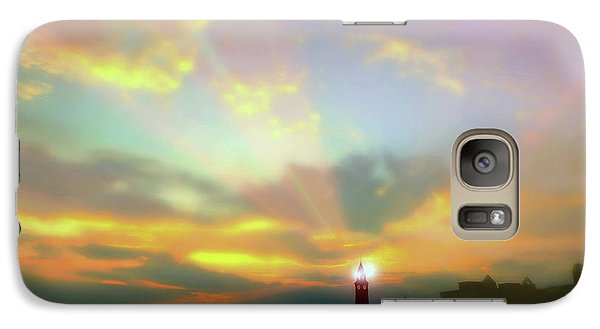 Galaxy Case featuring the photograph Lackawanna Transit Sunset by Diana Angstadt