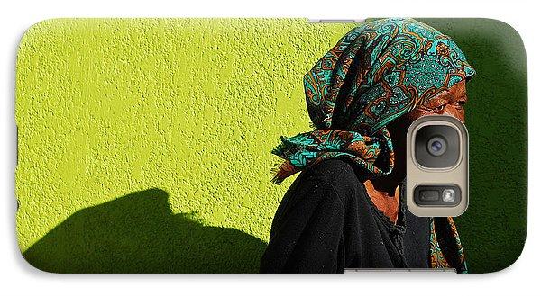 Lady In Green Galaxy Case by Skip Hunt