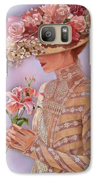 Lily Galaxy S7 Case - Lady Jessica by Sue Halstenberg