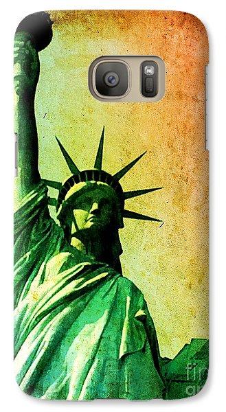 Lady Liberty Galaxy S7 Case