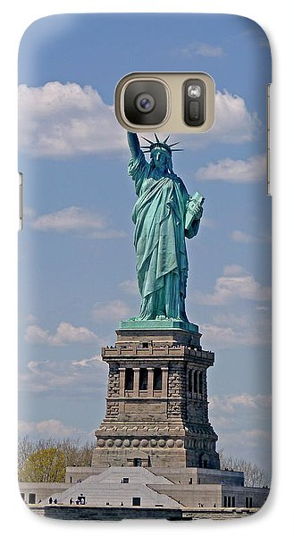 Galaxy Case featuring the photograph Lady Liberty by Helen Haw