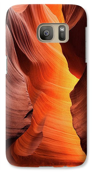 Galaxy Case featuring the photograph Lady Of The Flame by Darren White