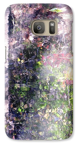 Galaxy Case featuring the photograph Lady On Water by Melissa Stoudt