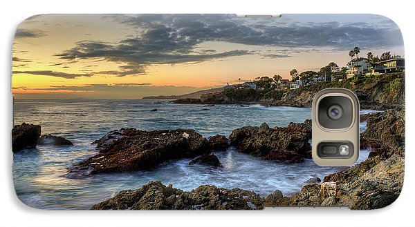 Galaxy Case featuring the photograph Laguna Beach Coastline by Eddie Yerkish