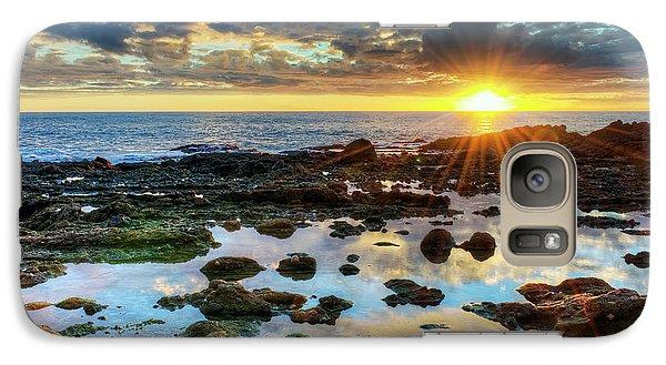 Galaxy Case featuring the photograph Laguna Beach Tidepools by Eddie Yerkish