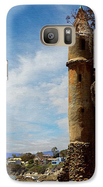 Galaxy Case featuring the photograph Laguna Beach Tower by Glenn McCarthy Art and Photography