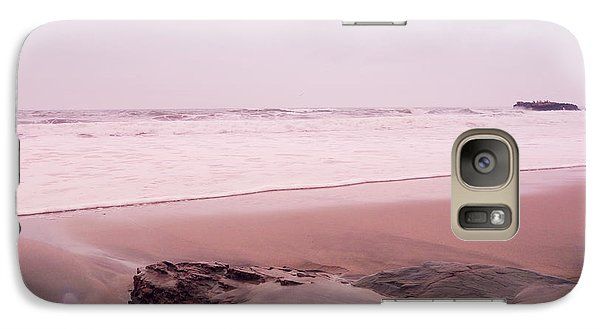 Galaxy Case featuring the photograph Laguna Shores Memories by Heidi Hermes