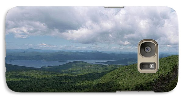 Galaxy Case featuring the photograph Lake And Ridges by Joshua House