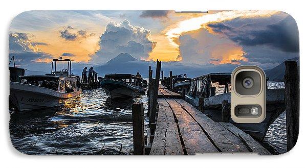 Galaxy Case featuring the photograph Lake Atitlan by Yuri Santin