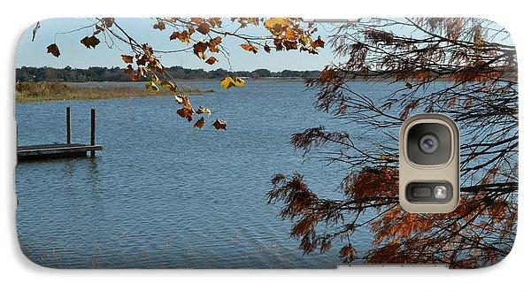 Galaxy Case featuring the photograph Lake Bonny Autumn by Carol  Bradley