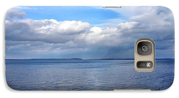 Galaxy Case featuring the photograph Lake Champlain From New York by Brendan Reals