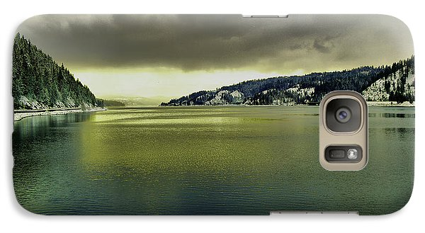 Galaxy Case featuring the photograph Lake Coeur D' Alene by Jeff Swan