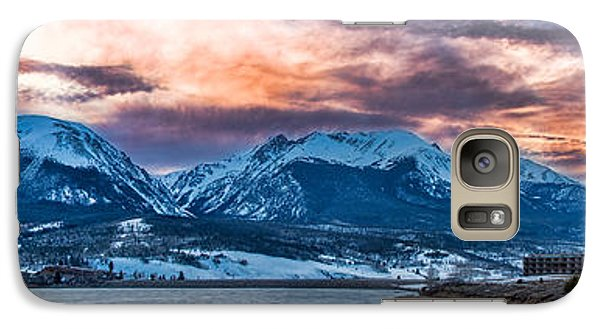 Galaxy Case featuring the photograph Lake Dillon by Sebastian Musial