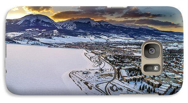 Galaxy Case featuring the photograph Lake Dillon Sunset by Sebastian Musial