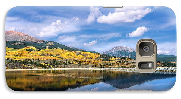 Galaxy Case featuring the photograph Lake Forebay Reflections by Tim Reaves