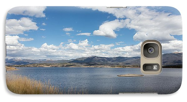 Galaxy Case featuring the photograph Lake Granby -- The Third-largest Body Of Water In Colorado by Carol M Highsmith