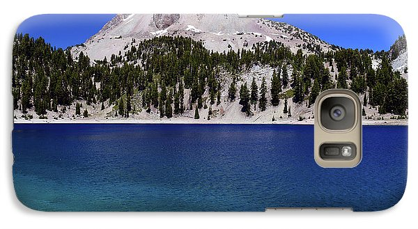 Galaxy Case featuring the photograph Lake Helen Mount Lassen 2 by Frank Wilson